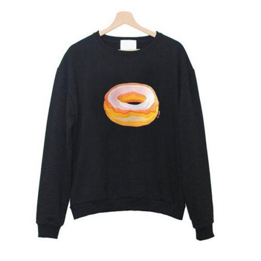 donut sweatshirt