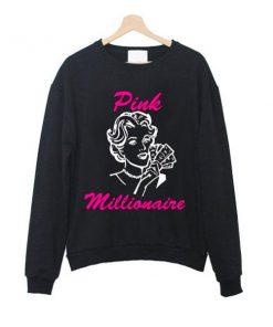 pink millionaire sweatshirt