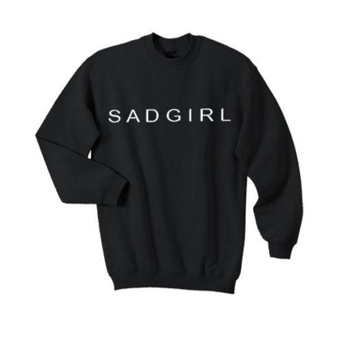 sad girl sweatshirt