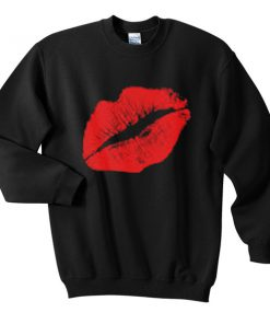 sexy lips sweatshirt