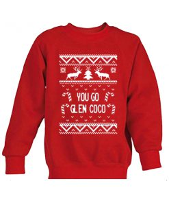 you go glen coco christmas sweatshirt