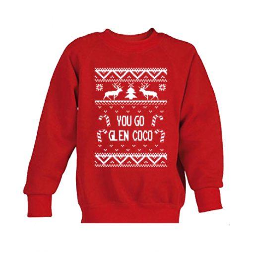 you go glen coco christmas sweatshirt