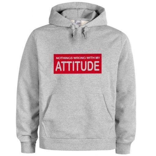 attitude hoodie
