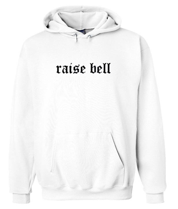 raise bell hoodie
