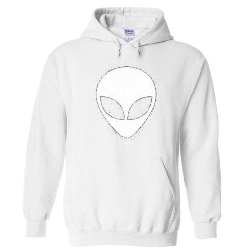 alien head hoodie
