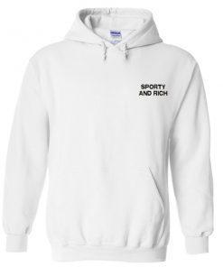 sporty and rich hoodie