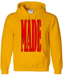 MADE font hoodie