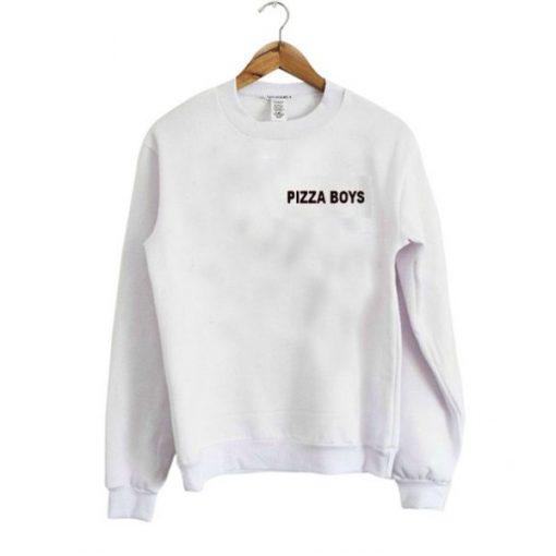 Pizza Boys Sweatshirt