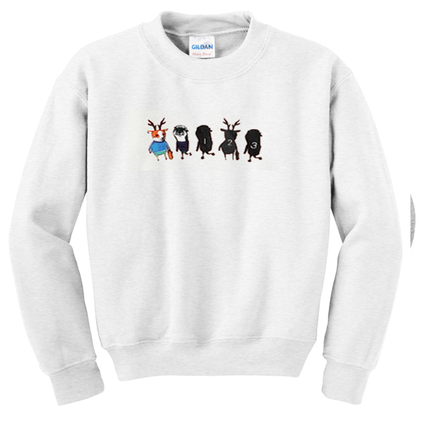 illustration sweatshirt