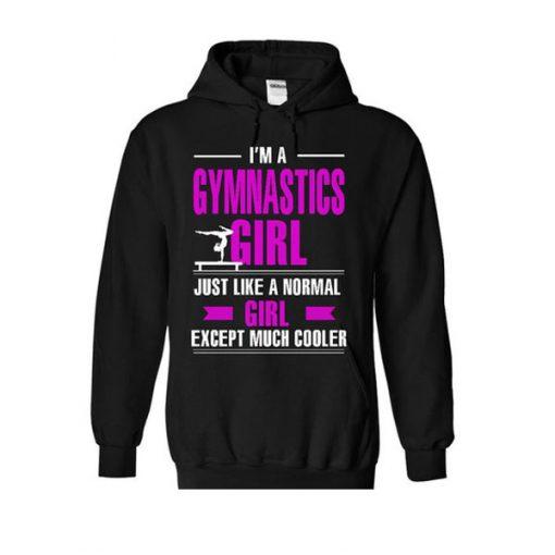 im a gymnastics girl hoodie