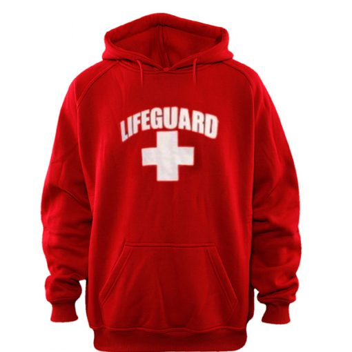lifeguard red color Hoodies