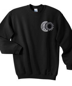 moon and sun sweatshirt