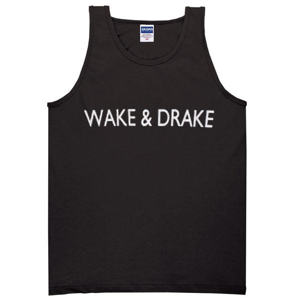 wake & drake tanktop