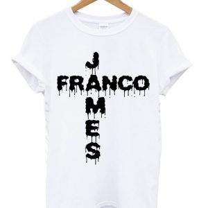 Dripping Celebrity James Franco T-shirt