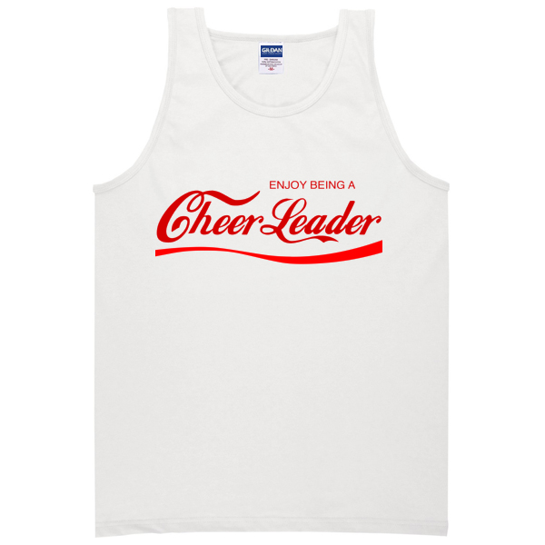 Enjoy Being A Cheerleader Tanktop