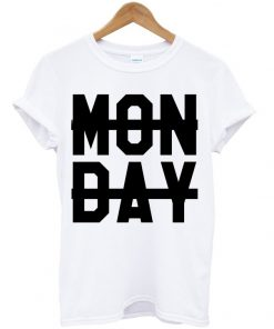 Monday Sucks Crossed Out T-shirt