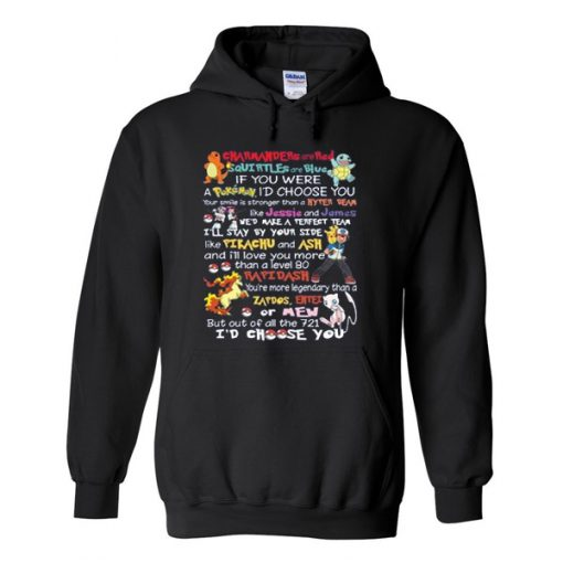 charmander are red pokemon quotes hoodie