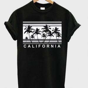 California Palm Trees T Shirt