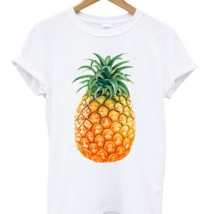 Colourful Tasty Pineapple T-shirt