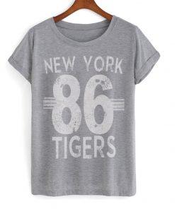 New York 86 Tigers T-shirt