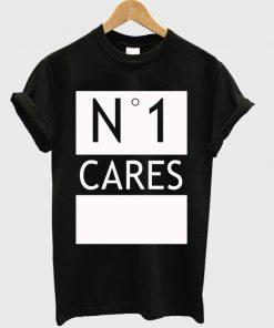 No 1 One Cares T-shirt