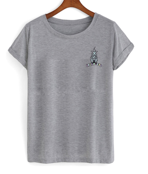 dreamland castle t-shirt