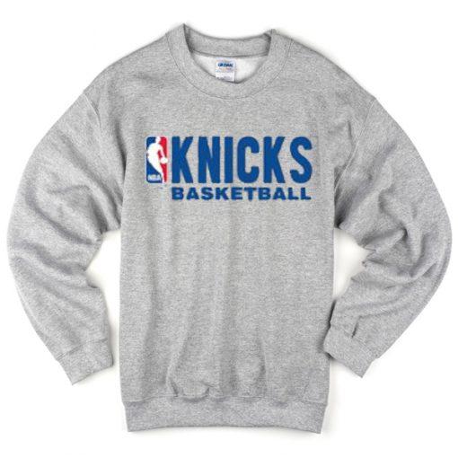 knicks basketball sweatshirt