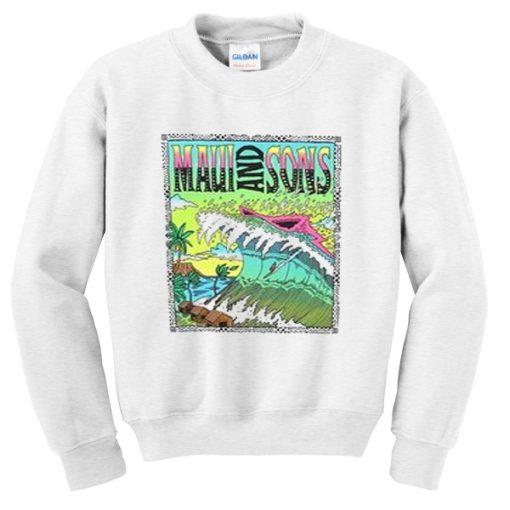 maui and sons sweatshirt