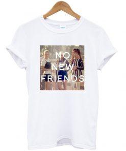 no new friends clueles tshirt