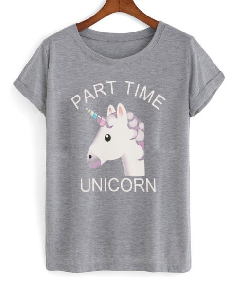 party time unicorn t-shirt