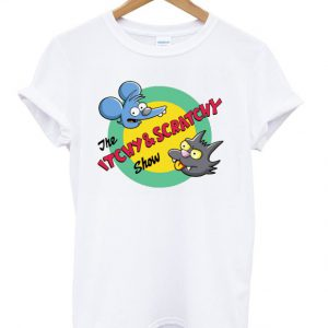 the itchy and scratchy show tshirt