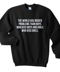 the world has bigger problem than boys tshirt