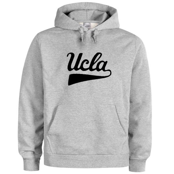 ucla font logo hoodie