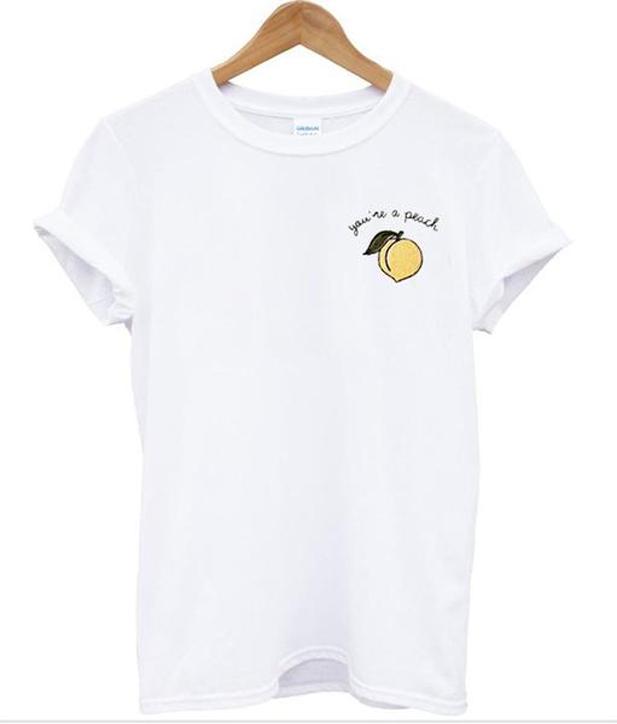 you're peach shirt