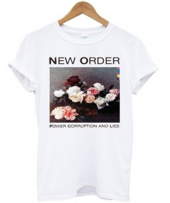 New Order Power Corruption and Lies T-shirt