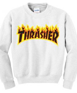 Thrasher Fire Sweatshirt