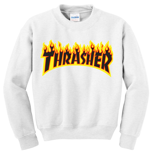 Thrasher Fire Sweatshirt