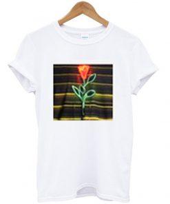 louis tomlinson neon rose t-shirt