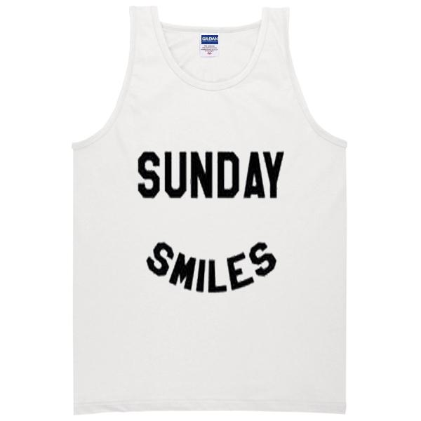 sunday smiles tanktop