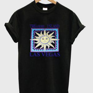 treasure island las vegas t-shirt