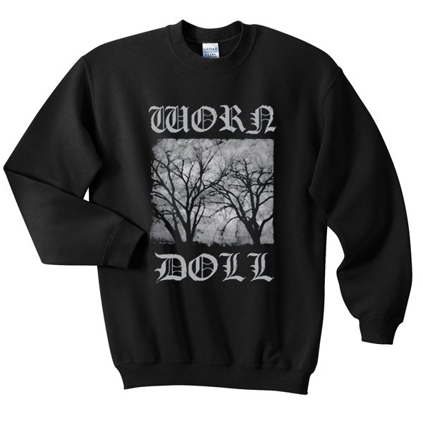 worn doll sweatshirt
