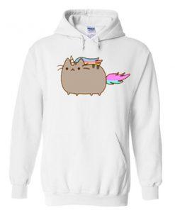 unicorn pusheen hoodie