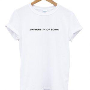 university of sowa t-shirt