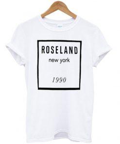 roseland new york 1990 t-shirt