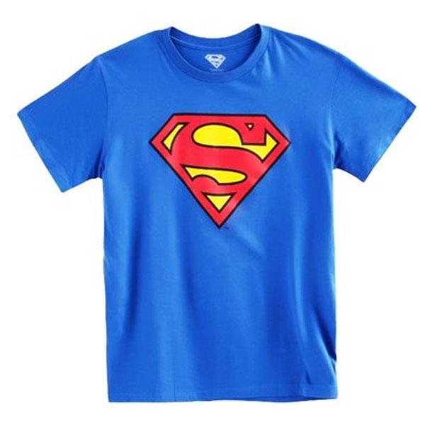superman logo tshirt