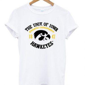 the univ of iowa hawkeyes t-shirt