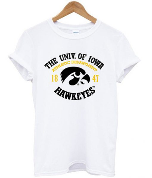 the univ of iowa hawkeyes t-shirt