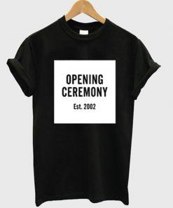 opening ceremony est 2002 t-shirt