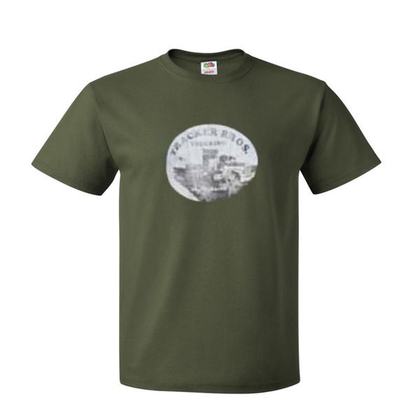 tracker bros trucking tshirt