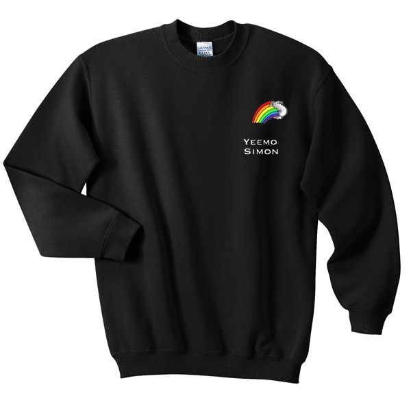 Yeemo Simon Rainbow Sweatshirt